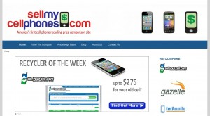 Sell My Cell Phones new site design