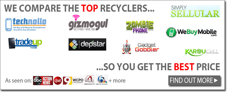 Which cell phone recyclers we compare
