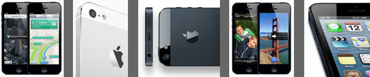 iPhone 5 visuals