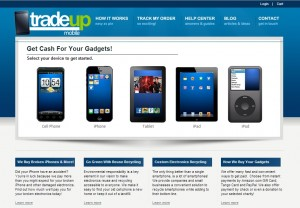 TradeUpMobile.com website
