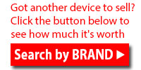 Click Search to try again or search for another device