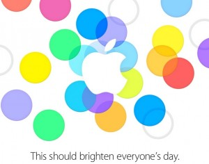 Apple media event invitation