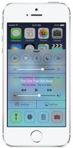 New iOS7 Control Center