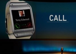 Samsung Galaxy Gear smart watch unveiled