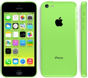 iPhone 5c available in a range of colors