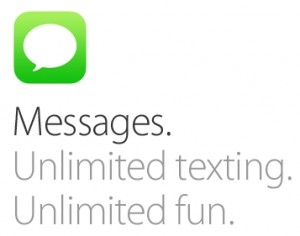 Fix for iMessage in iOS7
