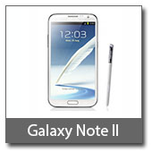 View all Samsung Galaxy Note II prices
