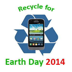 Sell old electronics for Earth Day 2014