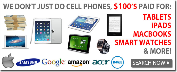 Tablet, iPad, iPod and more recycling