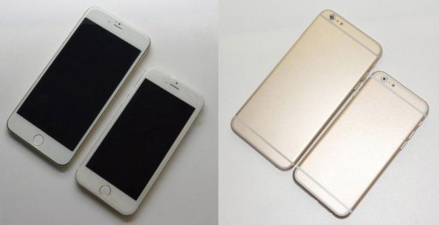 Two new iPhone 6 leaked handset images
