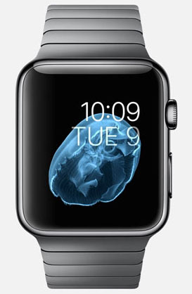 Apple watch in space gray