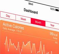 The new iOS 8 Health app