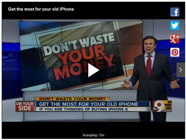 Sell My Cell Phones TV news feature