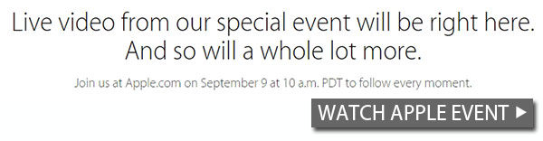 Watch the iPhone 6 launch live