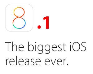 iOS 8.1 release