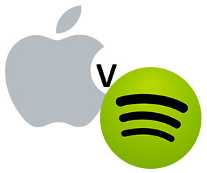 Apple Music v Spotify